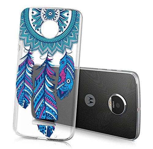 Sunrive Für Lenovo Moto Z Play 5,5 Zoll, Schutzhülle Etui Hülle transparent weich Ultra Slim TPU Silikon Rückschale Silicon Cover Tasche Hülle Bumper Abdeckung Handyhülle()
