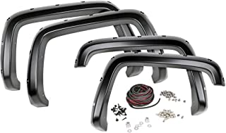 Rough Country Pocket Fender Flares Flat Black (fits) 2014-2019 Tundra F-T11411