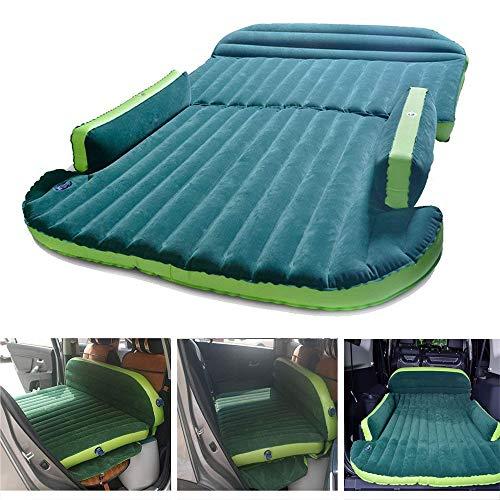 Air Beds Auto Viaggio Materasso Gonfiabile SUV con Pompa Aria Pieghevole Cuscino Floccato Sedile Posteriore Auto Universale per Escursionismo materassino da Campeggio per Bambini Kit