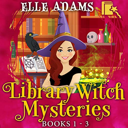 Library Witch Mysteries: Books 1-3 Audiobook By Elle Adams cover art