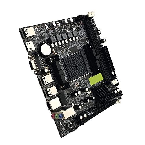 Zhiping Desktop Motherboard A55/A58 PCI-E 2xDDR3 4xSATA2 interfaz placa base compatible para AMD