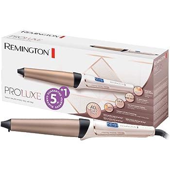 Remington CI91X1 Fer à boucler, Boucleur Conique Céramique Avancée Grip Tech Proluxe, Température Constante et Ciblée