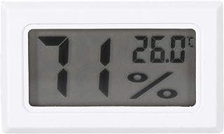 Higrómetro Digital Monitor de Humedad de Termómetro de Pantalla LCD Grande para el Dormitorio de Invernadero del Ministeri...