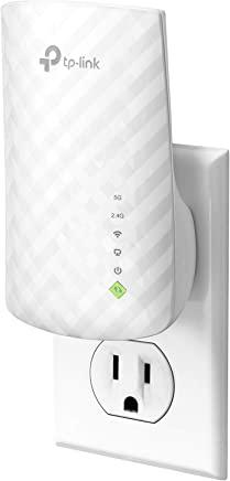 TP-Link | AC750 Wifi Extender | Up to 750Mbps | Dual Band Range Extender, Repeater, Wifi Signal Booster, Access Point| Easy Set-Up | Internet Booster Extends Wifi (RE200)
