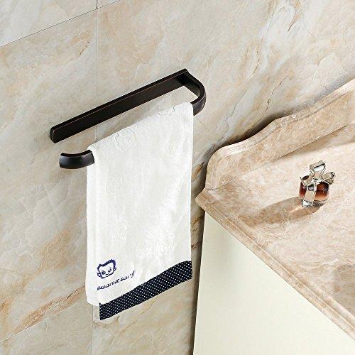 Hiendure ® Aus Messing Bad Handtuchhalter Badregal Wandregal Badetuchstange Regal Wandhandtuchhalter Handtuchstange, zur Wandmontage