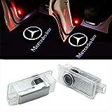 Huayin 2 unidades Auto Puerta LED logo Puerta Iluminación einstieg lámpara de proyección de luz