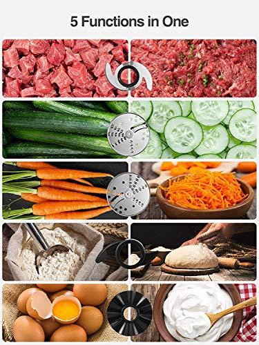Aicook Procesador de Alimentos, Picadora