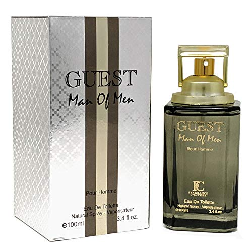 J&H GUEST MAN OF MEN Cologne, Eau de Toilette Spray for Men, Wonderful Gift, Signature Scent, all Skin Types, a Classic Bottle, 3.4 Fluid Ounce