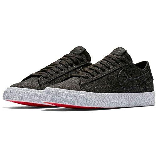Nike SB Zoom Blazer Low Cnvs Decon, Scarpe da Ginnastica Basse Uomo, Nero (Black/Black/Anthracite 001), 41 EU