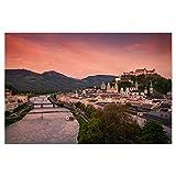 artboxONE Poster 60x40 cm Städte Salzburg 02