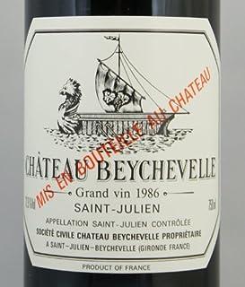 Ch. Beychevelle シャトー・ベイシュヴェル 1986