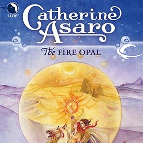 The Fire Opal audiobook cover art
