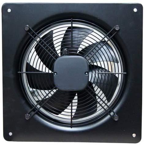 Industrielüfter Industrie Metall Ventilator Ø 250mm Abzug Abluft Zuluft 1600m³/h