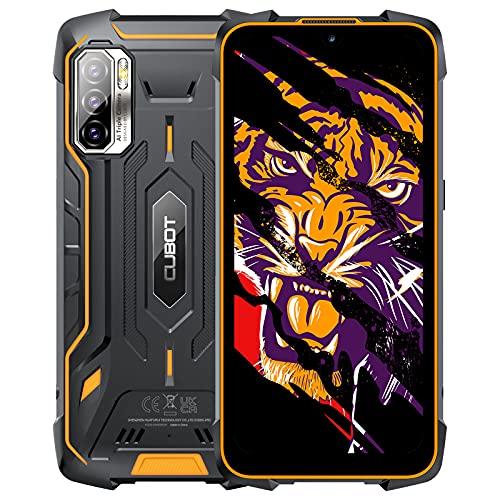 CUBOT Kingkong 5 Pro Outdoor Smartphone ohne Vertrag 8000mAh Android 11, Wasserdicht Handy mit 48MP Kamera, 6.1 Zoll Display, 4GB RAM/64 GB, 4G Dual SIM, Global Version, Schwarz