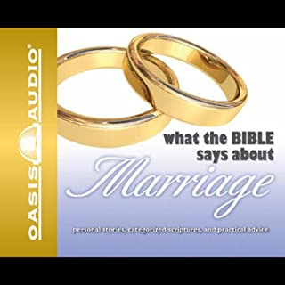 What the Bible Says About Marriage audiobook cover art