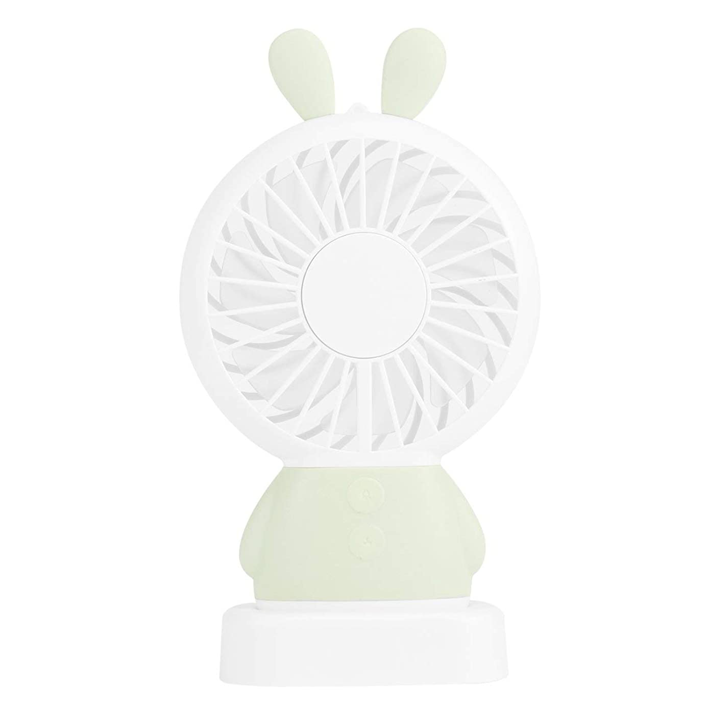 Liobaba Mini Handheld USB Misting Fan with Personal Cooling Mist Humidifier Rechargeable Portable Mini Misting Cooling Fan for Home Office and Travel