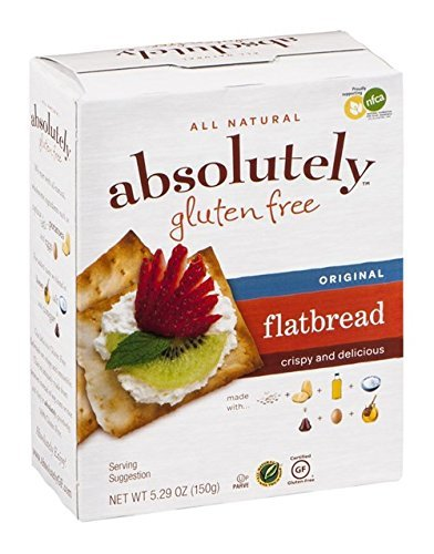 'Absolutely Gluten Free' Flatbread Orgnl, 6/5.29oz