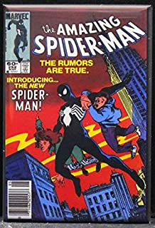 The Amazing Spider-Man #252 Comic Book Cover Refrigerator Magnet.