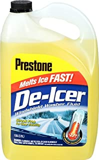Prestone AS250-6PK De-Icer Windshield Washer Fluid - 1 Gallon, (Pack of 6)