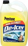 Prestone AS250-6PK De-Icer Windshield Washer Fluid - 1 Gallon, (Pack of 6)