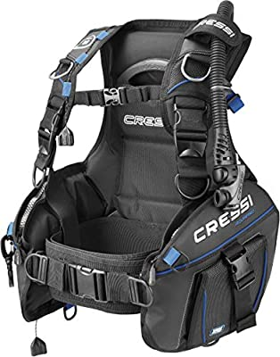 Cressi Aquapro+, Black/Blue, S