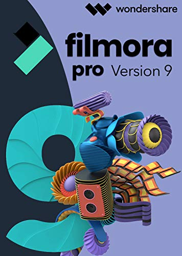 Filmora Video Editor 9 PRO-Lebenslange Lizenz (Product Keycard ohne Datenträger)