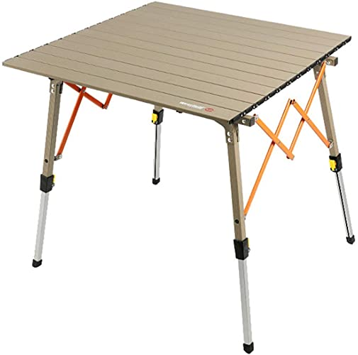KY Tables Camping Table Pliante Pliante en Aluminium Portable en Aluminium