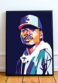 Chance The Rapper Limited Poster Artwork - Professional Wall Art Merchandise (More Sizes Available) (8x10)