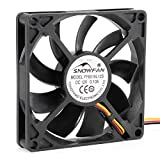 ELECTROPRIME 80mm Sleeve Bearing Silent Fan Cooling Fan 1600 RPM for Computer Cases and CPU Coolers