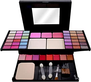 T.Y.A GOOD CHOICE INDIA Makeup Kit, 36 Eyeshadow, 3 Blusher, 2 Compact, 8 Lip Color, (5003), 48g With Lilium Hand Cleanser