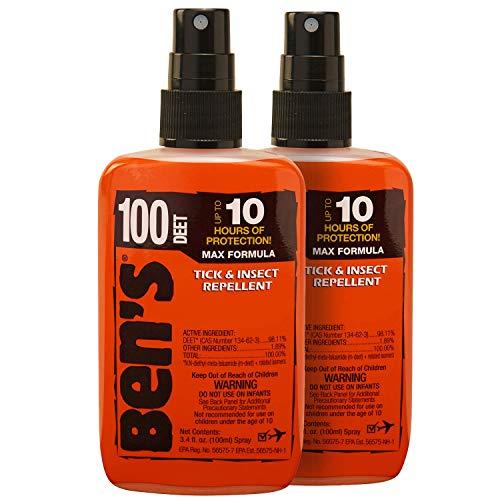 Ben's 100 Insect Repellent Pump 3.4 oz (Pack of 2)