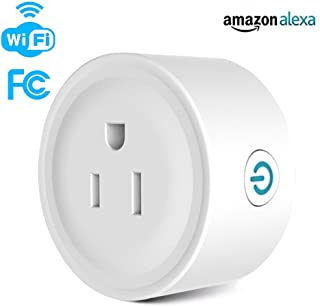 SY-BIZ 1Pack mini WiFi Smart Plug Compatible with Alexa Echo and Google home Control by Smart Phone with Timing Function from Anywhere
