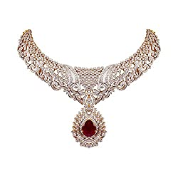 Engagement & Wedding Straightforward Gold Plated Ethnic Bollywood 2pcs Necklace Earring Set Traditional Jewellery High Safety