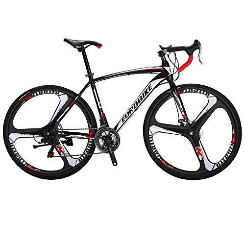 Eurobike Road Bikes 700C 54cm Frame 3 Spoke Wheel (54)