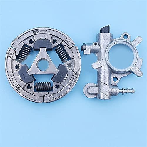 HCO-YU Kit de Bomba de Aceite de Embrague cabido para STIHL 034 036 MS360 MS340 MS 360 340 MS360C 036PRO Repuestos de reemplazo de Motosierra 1125 640 3201