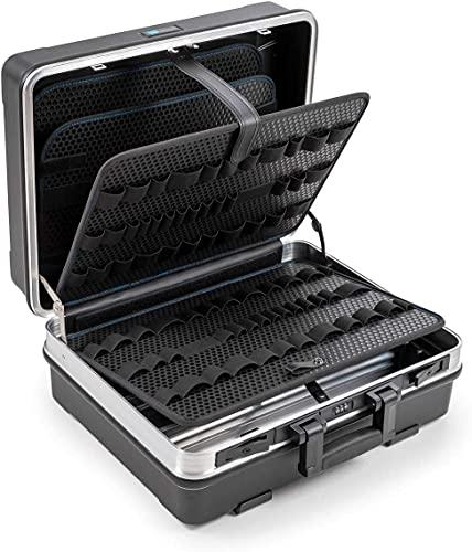 B&W FLEX Valigetta portautensili con anelli portautensili (valigetta in ABS, volume 34,3l, 47 x 36,5 x 20 cm interno) 120.03/L, senza utensili