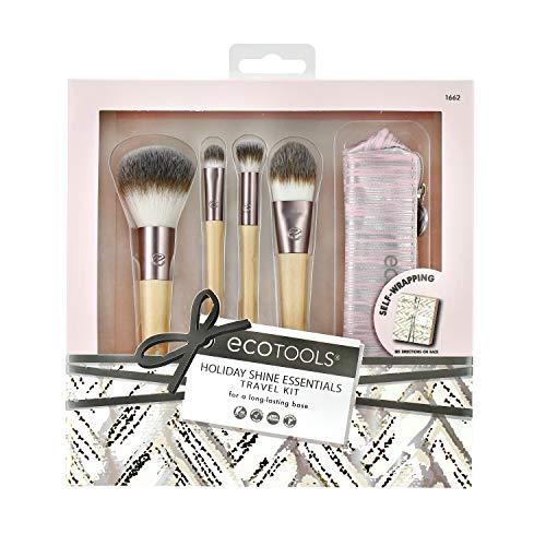 Ecotools - Juego de brochas de maquillaje para rostro - 110 g