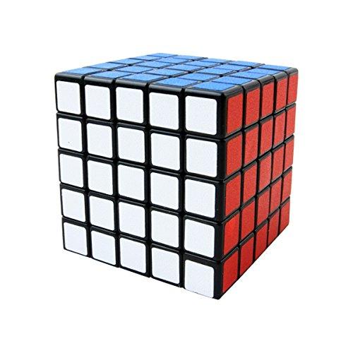 Cooja 5x5 Cube, Cubo Magico Speedcube Cubo Puzzle 3D Fácil Giro Speed Juguetes Juegos de Inteligencia