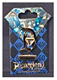 Disneyland 60th Anniversary Diamond Celebration Standee Letter D w/jewel Trading Pin by Disney Official Pin Trading
