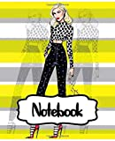 """Notebook: Gwen Stefani American Singer No Doubt Music Band R&B, Electro, And J-pop, Large Notebook for Drawing, Doodling or Writting: 110 Pages, 7.5"""" ... ( Blank Paper Drawing and Write Notebooks )"""