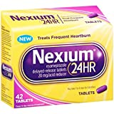 Nexium 24-Hour Delayed Release Heartburn Relief (42-Count Tablets) - Buy Packs...