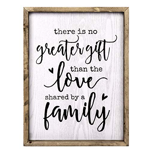 Family Love Rustic Wood Wall Hanging