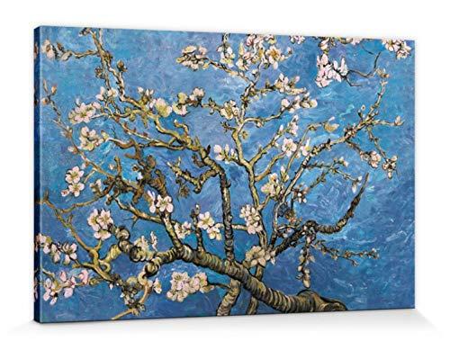 1art1 Vincent Van Gogh - Almendro En Flor, 1890 Cuadro, Lienzo Montado sobre Bastidor (120 x 80cm)