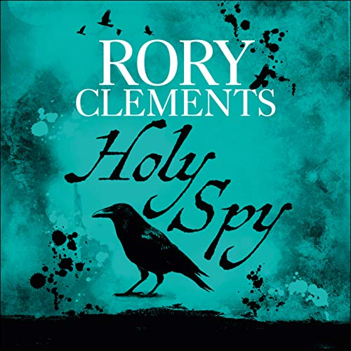 Holy Spy audiobook cover art
