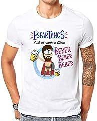 Camiseta Espartanos cual es vuestro Oficio, Beber