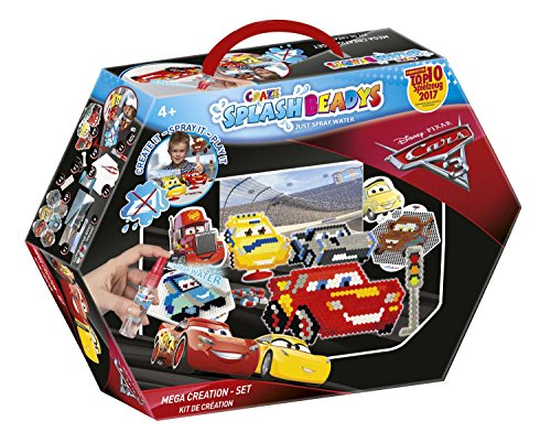 Craze 59419 - Splash Beadys, Cars, Creation Set