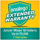 Onsitego 1 Year Extended Warranty for Juicer Mixer Grinders Up to Rs 5000 (Email Delivery)