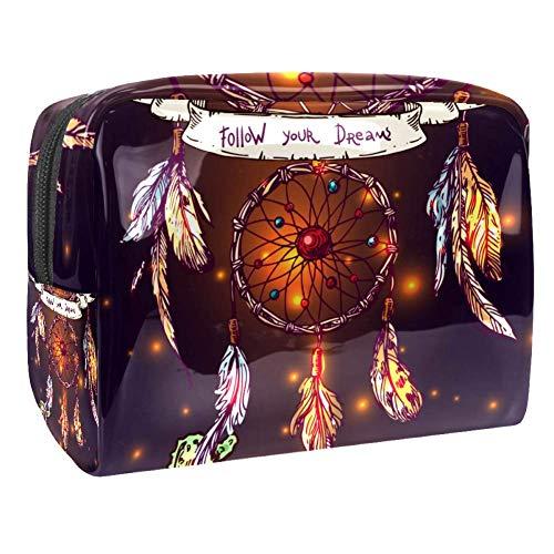 Bolsa de maquillaje portátil con cremallera bolsa de aseo de viaje para mujeres práctico almacenamiento cosmético bolsa de invitación de boda ropa de seda
