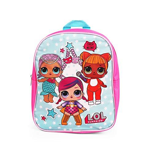 LOL Surprise! Mini Backpack for Girls - 12 inch Backpack - School Bag for Elementary Girls
