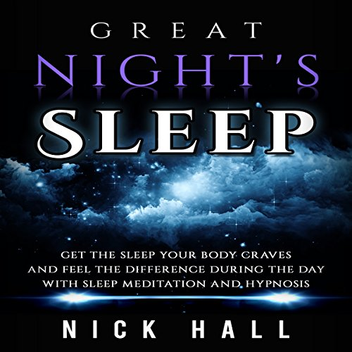 Great Night's Sleep audiobook cover art